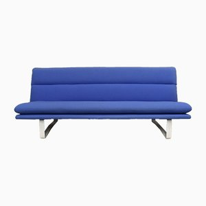 Blue C683 Sofa by Kho Liang Ie for Artifort, 1960s