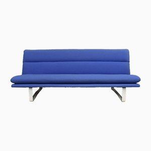 Canapé C683 Bleu par Kho Liang Le pour Artifort, 1960s