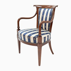 Neo-Classical Italian Birch Armchair by Selva, 1990s