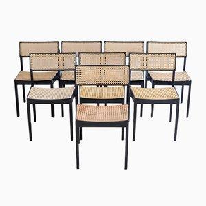 Modell 3100 Esszimmerstühle von Willy Guhl für Dietiker, 1959, 8er Set