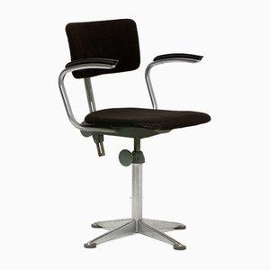 Chaise de Bureau Industrielle en Bakélite par Friso Kramer pour Ahrend De Cirkel, 1960s