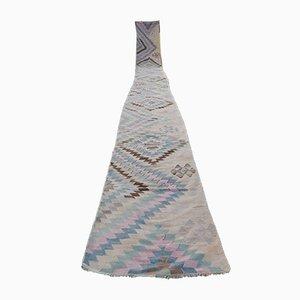 Alfombra Kilim hecha a mano, años 70