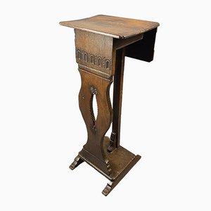 Antiker Nachttisch aus Eiche
