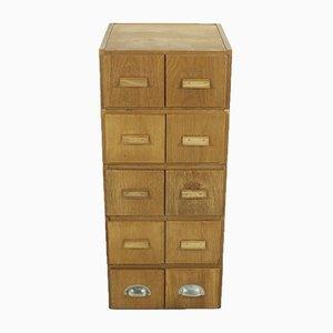 Mueble Mid-Century de haya, años 50