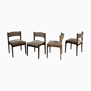 Model 105 Dining Chairs by Gianfranco Frattini for Cassina, 1960s, Set of 4