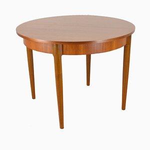 Tavolo da pranzo Mid-Century allungabile in legno, anni '60