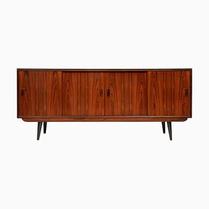 Antique Danish Rosewood Sideboard from P. Westergaard Mobelfabrik.