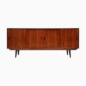 Antique Danish Rosewood Sideboard from P. Westergaard Mobelfabrik.