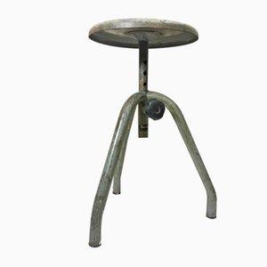 Italienischer Vintage Hocker aus Eisen von Fami