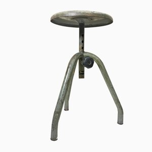 Vintage Italian Iron Stool from Fami