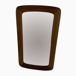 Espejo escandinavo moderno de Ateljé Glas & Trä, años 60