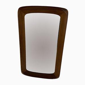 Scandinavian Modern Mirror from Ateljé Glas & Trä, 1960s