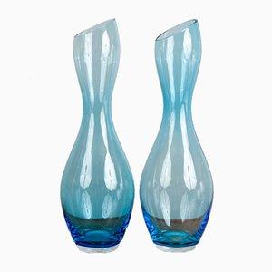 Vases en Verre de Rosenthal, 1970s, Set de 2