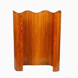 Art Deco French Pine Room Divider by Joamin Baumann, 1940s