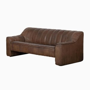 Vintage Leather DS44 Sofa from de Sede, 1970s