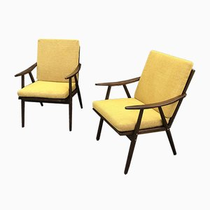Boomerang Armchairs from Thonet, 1960s, Set of 2