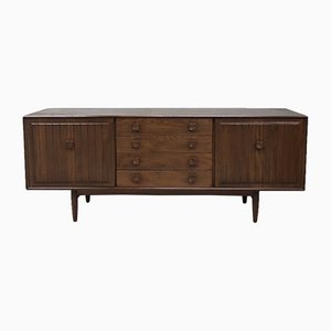 Vintage Elm Sideboard from Scandart, 1970s