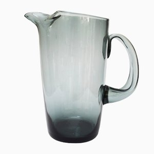Norwegian Truls Glass Jug by Willy Johansson for Hadeland Glassverk, 1960s