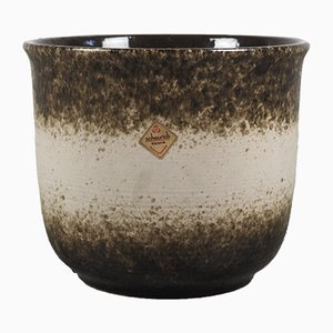 Vaso in ceramica, anni '80