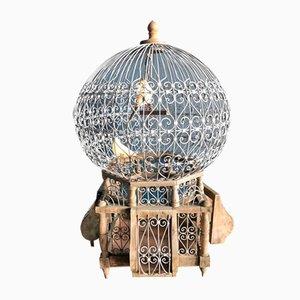 Cage à Oiseau Antique, France