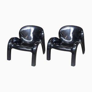 GN2 Sessel von Peter Ghyczy für Reuter's Form & Life Kollektion, 1970er, 2er Set