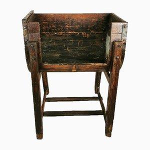 Antique Rustic Oak Planter