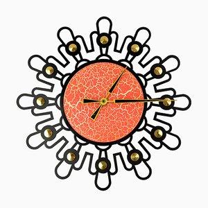 Horloge Murale Soleil de Weimar Electronic, 1970s