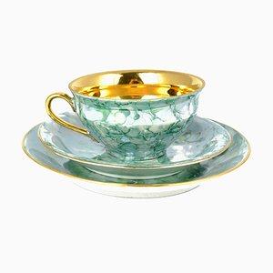 Marbled Tea Set from Zakłady Porcelany Stołowej, 1960s