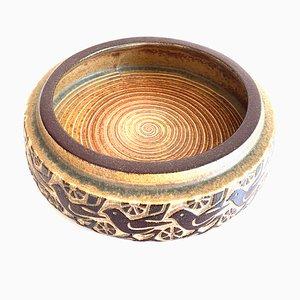 Danish Stoneware Bowl from Michael Andersen, 1960s