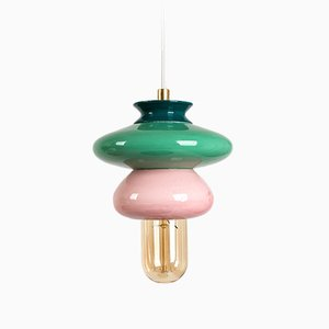 Small Pink Series Apilar Pendant Lamp from Studio Noa Razer