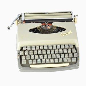Máquina de escribir de Consul, 1964