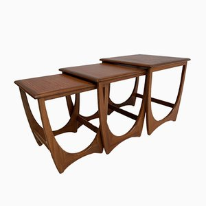 Teak Nesting Tables by Victor Wilkins for G-Plan, 1960s