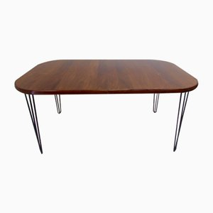 Danish Rosewood Dining Table from Jensen Frokjaeras, 1970s