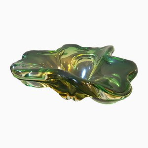 Vintage Italian Murano Glass Ashtray, 1970s