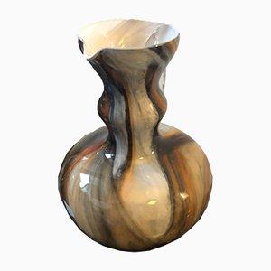 Jarra italiana Mid-Century de cristal de Murano de Carlo Moretti, años 70