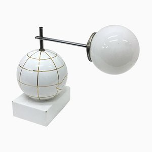 Art Deco Italian Ceramic Table Lamp, 1930s