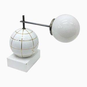Italienische Art Deco Tischlampe aus Keramik, 1930er