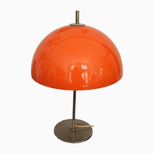 Vintage Metal and Plastic Table Lamp, 1970s