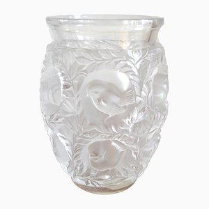 Art Deco French Bagatelle Glass Vase by René Lalique, 1950's