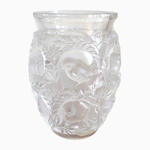 Jarrón Bagatelle francés Art Déco de vidrio de René Lalique, años 50