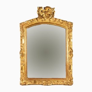 18th Century Regency Carved & Gilded Wood Mirror