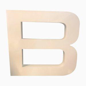 Letter B Sign, 1970s