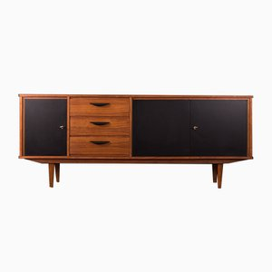 Mid-Century German Formica and Veneer Sideboard, 1950s