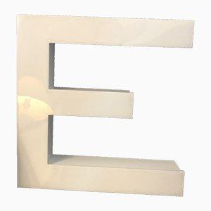 Letter E Sign, 1970s