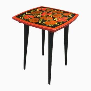 Tavolino satto a mano in legno pressato, anni '80