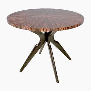 Mid-Century Italian Macassar Dining Table, 1950s