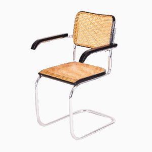 German Bauhaus Tubular Steel Armchair by Marcel Breuer, 1930s