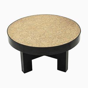 Tavolini modernisti in metallo e resina di Ado Chale per Ado Chale, anni '80, set di 2
