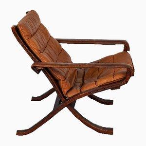 Butaca Flex de madera curvada de Ingmar Relling para Westnofa, años 60