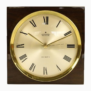 Horloge ATO Mat S en Laiton de Junghans, 1970s